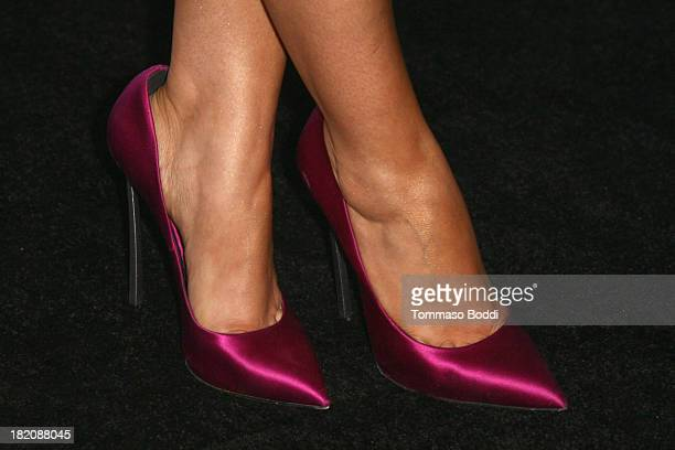Actress Sarah Hyland attends the 11th Annual Teen Vogue Young Hollywood Party With Emporio Armani on September 27 2013 in Los Angeles California
