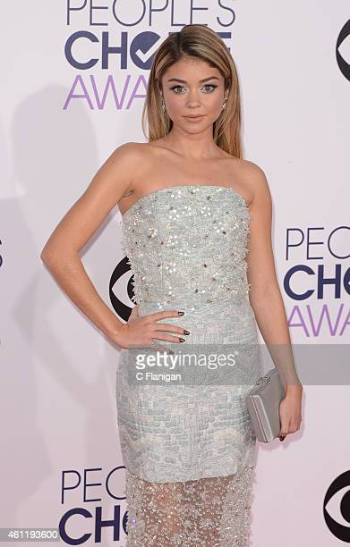 Actress Sarah Hyland attends the 2015 People's Choice Awards at Nokia Theatre L.A. Live on January 7, 2015 in Los Angeles, California.