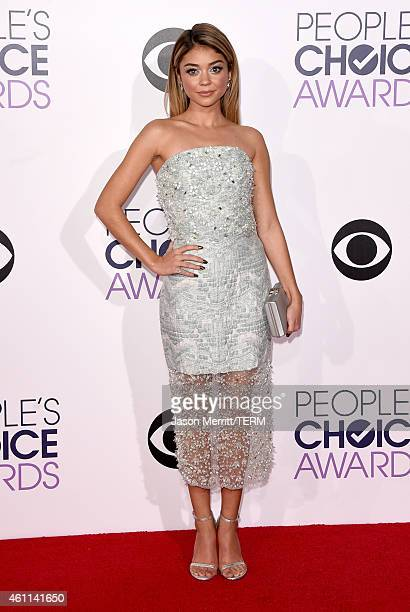 Actress Sarah Hyland attends The 41st Annual People's Choice Awards at Nokia Theatre LA Live on January 7 2015 in Los Angeles California
