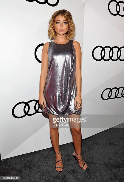 Actress Sarah Hyland attends the Audi Celebrates The 68th Emmys at Catch LA on September 15 2016 in West Hollywood California