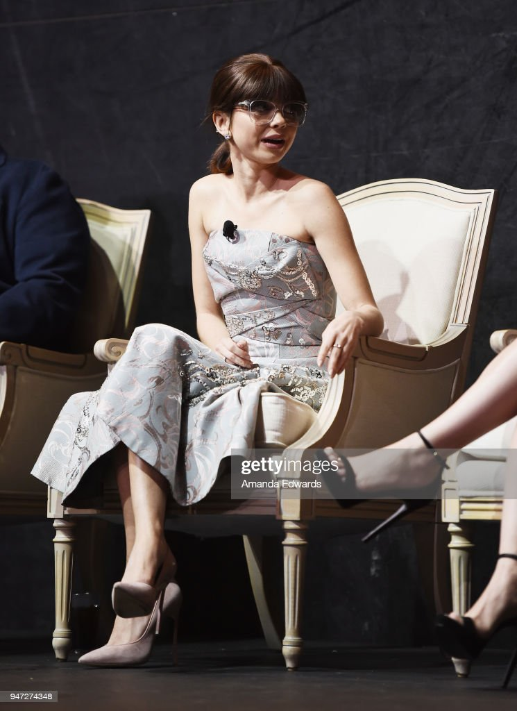 Actress Sarah Hyland attends the FYC Event for ABC's 'Modern Family' at Avalon on April 16, 2018 in Hollywood, California.