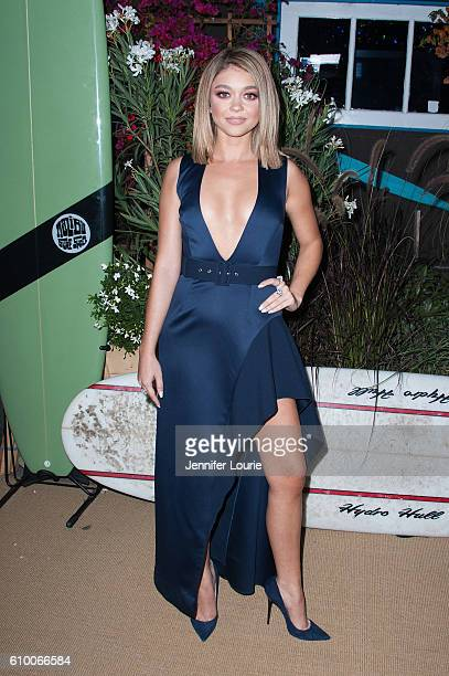 Actress Sarah Hyland attends the Teen Vogue Celebrates 14th Annual Young Hollywood Issue at the Reel Inn on September 23 2016 in Malibu California