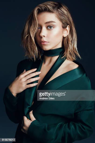 Actress Sarah Hyland is photographed for Marie Claire Indonesia on October 2 2016 in Culver City California COVER IMAGE