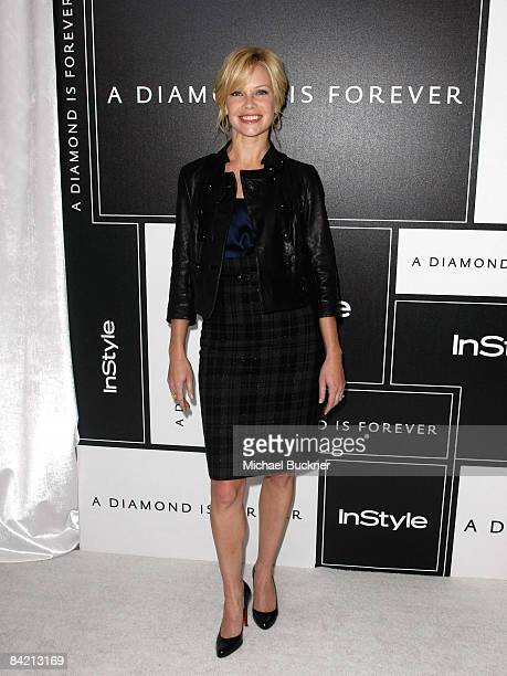 Actress Sarah Jane Morris attends the 8th Annual Awards Season Diamond Fashion Show Preview hosted by the Diamond Information Center and InStyle held...