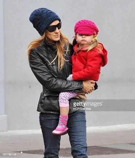 Actress Sarah Jessica Parker and Marion Broderick are seen on December 6 2012 in New York City