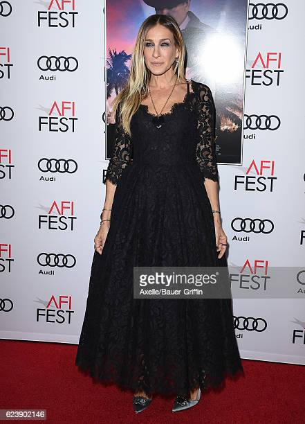 Actress Sarah Jessica Parker arrives at AFI FEST 2016 Presented by Audi Opening Night Premiere of 20th Century Fox's 'Rules Don't Apply' at TCL...