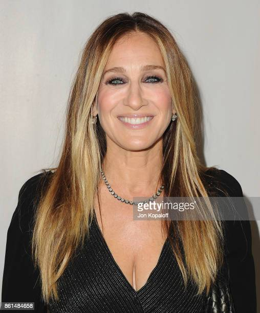 Actress Sarah Jessica Parker arrives at Bottega Veneta Hosts Hammer Museum Gala In The Garden on October 14 2017 in Westwood California