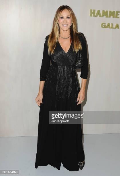 Actress Sarah Jessica Parker arrives at Bottega Veneta Hosts Hammer Museum Gala In The Garden on October 14 2017 in Westwood California