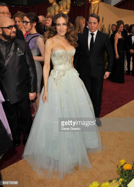 Actress Sarah Jessica Parker arrives at the 81st Annual Academy Awards held at The Kodak Theatre on February 22 2009 in Hollywood California