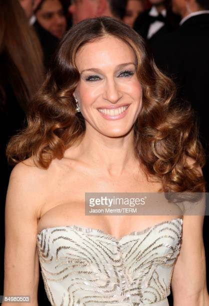 Actress Sarah Jessica Parker arrives at the 81st Annual Academy Awards held at Kodak Theatre on February 22 2009 in Los Angeles California
