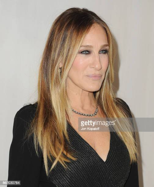 Actress Sarah Jessica Parker arrives at the Hammer Museum Gala In The Garden at Hammer Museum on October 14 2017 in Westwood California