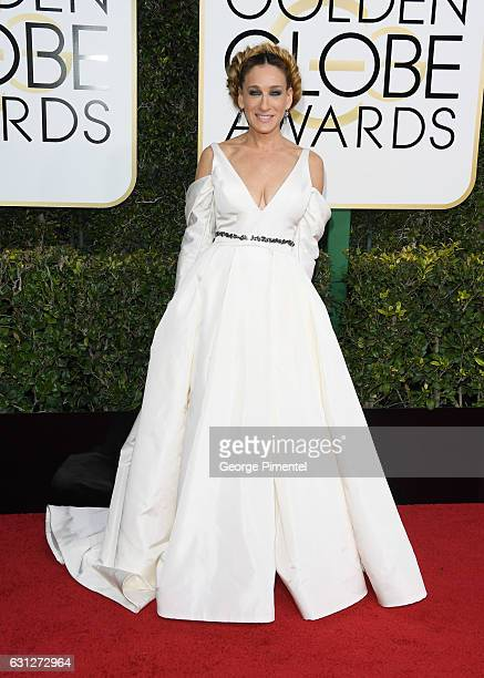 Actress Sarah Jessica Parker attends 74th Annual Golden Globe Awards held at The Beverly Hilton Hotel on January 8, 2017 in Beverly Hills, California.