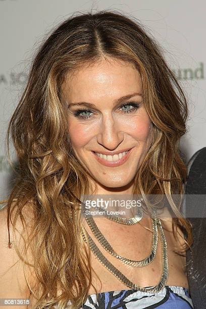 Actress Sarah Jessica Parker attends a screening of Then She Found Me hosted by The Cinema Society and Mulberry at AMC Lincoln Square Theatre April...