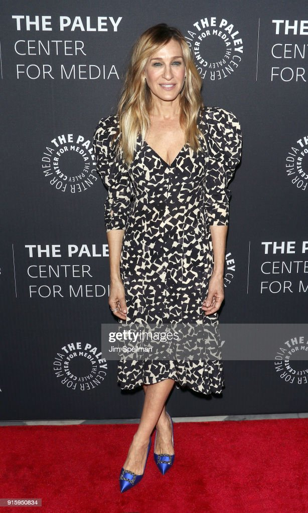 Actress Sarah Jessica Parker attends an evening with the cast of 'Divorce' at The Paley Center for Media on February 8, 2018 in New York City.