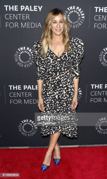 Actress Sarah Jessica Parker attends an evening with the cast of Divorce at The Paley Center for Media on February 8 2018 in New York City