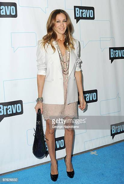 Actress Sarah Jessica Parker attends Bravo's 2010 Upfront Party at Skylight Studio on March 10 2010 in New York City
