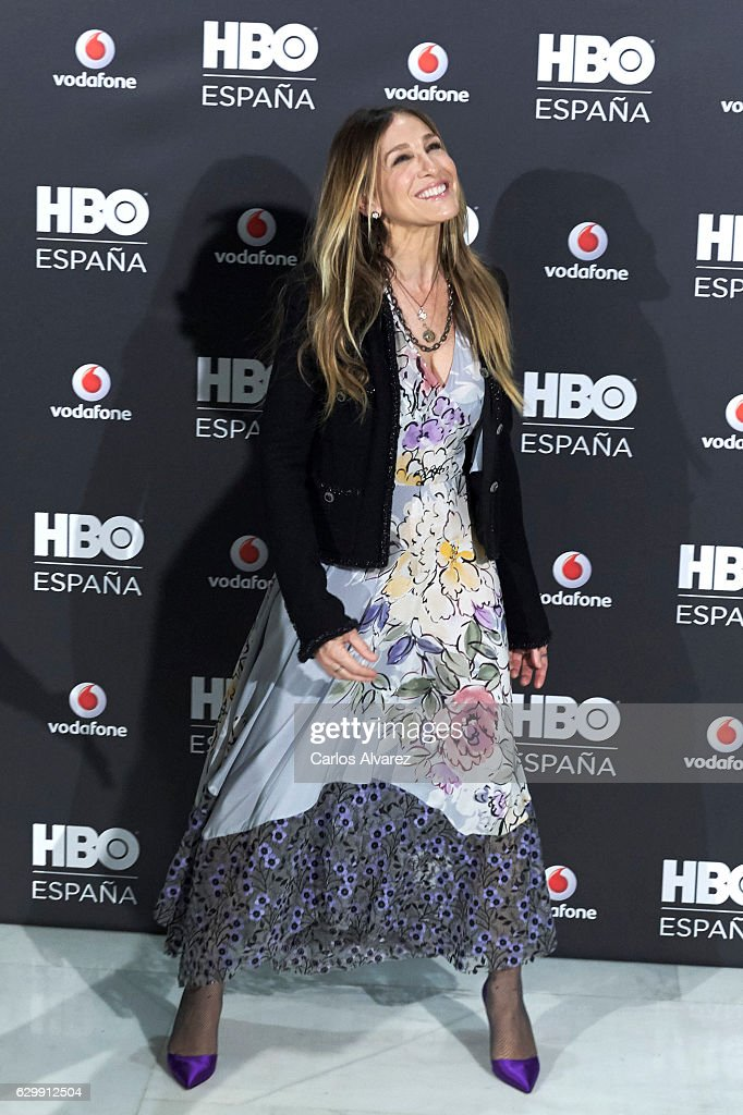Actress Sarah Jessica Parker attends HBO Spain presentation at Urso Hotel on December 15, 2016 in Madrid, Spain.