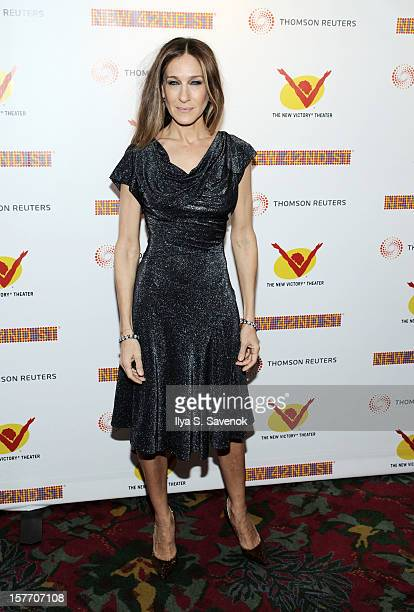 Actress Sarah Jessica Parker attends New 42nd Street Gala at The New Victory Theater on December 5 2012 in New York City