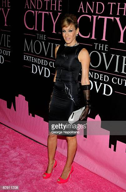 Actress Sarah Jessica Parker attends Sex and the City The Movie Extended Cut DVD launch party at The New York Public Library on September 18 2008 in...