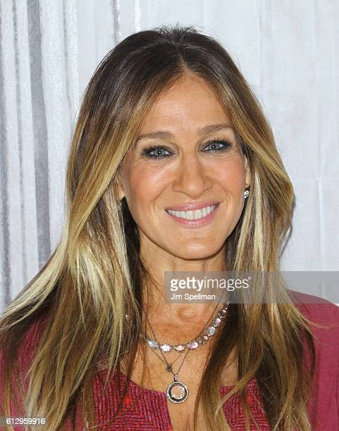 Actress Sarah Jessica Parker attends T2he Build Series Presents Sarah Jessica Parker to discuss the show 'Divorce' at AOL HQ on October 6 2016 in New...