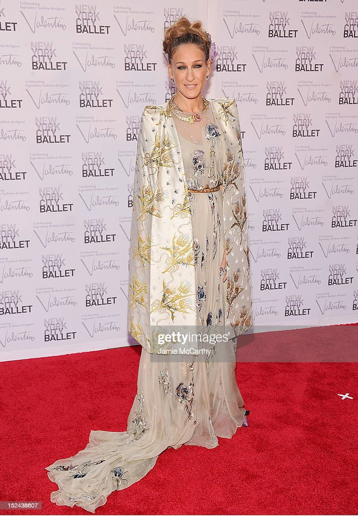 Actress Sarah Jessica Parker attends the 2012 New York City Ballet Fall Gala at the David H. Koch Theater, Lincoln Center on September 20, 2012 in New York City.
