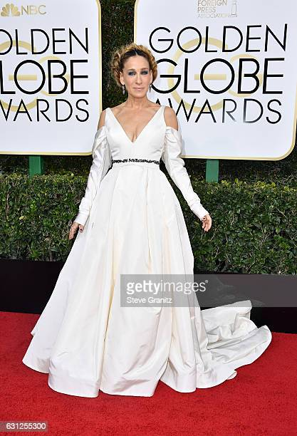 Actress Sarah Jessica Parker attends the 74th Annual Golden Globe Awards at The Beverly Hilton Hotel on January 8, 2017 in Beverly Hills, California.