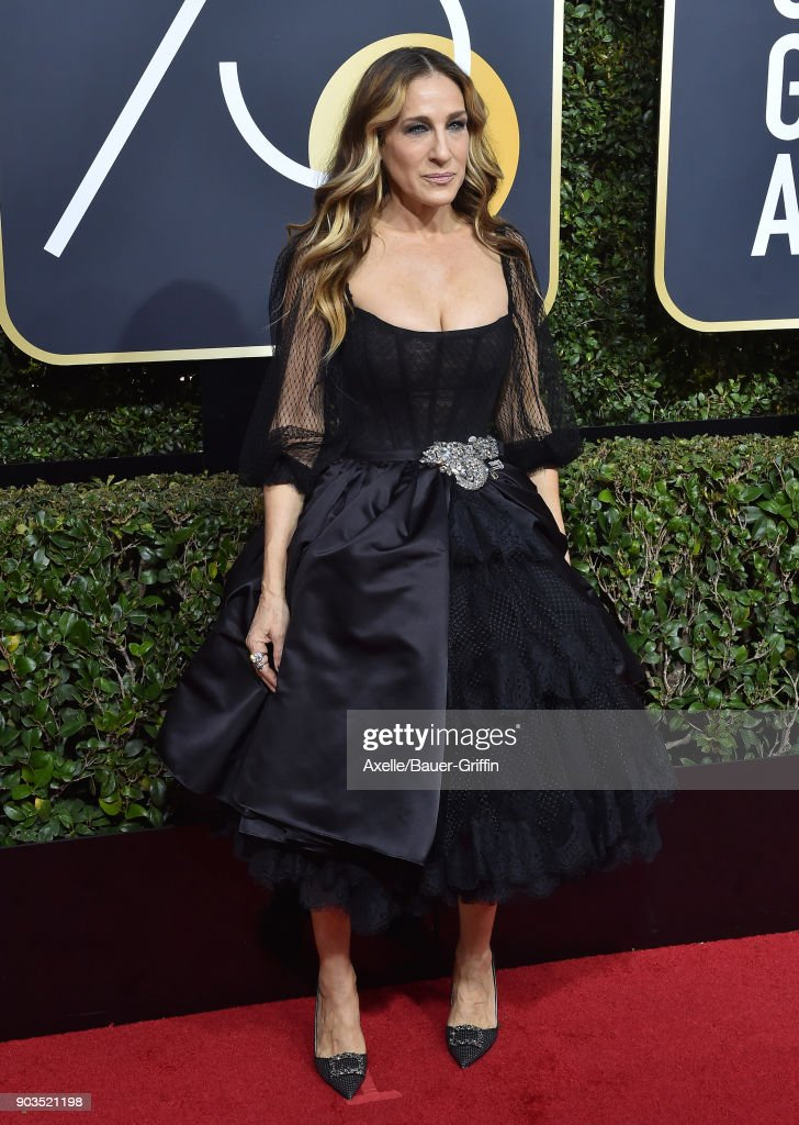 Actress Sarah Jessica Parker attends the 75th Annual Golden Globe Awards at The Beverly Hilton Hotel on January 7, 2018 in Beverly Hills, California.