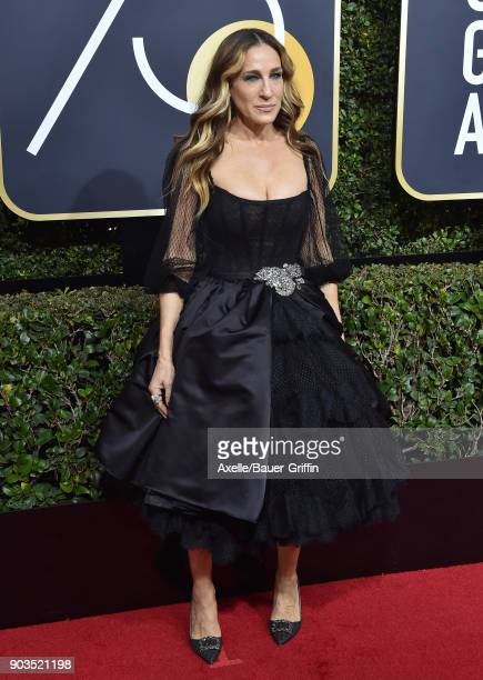 Actress Sarah Jessica Parker attends the 75th Annual Golden Globe Awards at The Beverly Hilton Hotel on January 7 2018 in Beverly Hills California