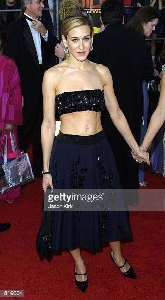 Actress Sarah Jessica Parker attends the 7th Annual Screen Actors Guild Awards March 11 2001 at the Shrine Auditorium in Los Angeles CA