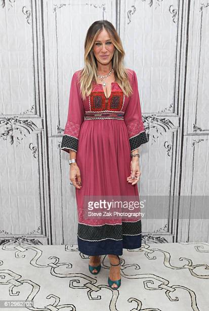 Actress Sarah Jessica Parker attends the Build Series to discuss her new show 'Divorce' at AOL HQ on October 6 2016 in New York City