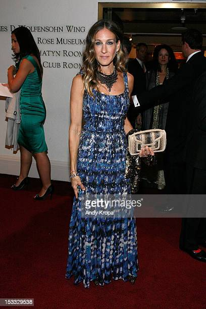 Actress Sarah Jessica Parker attends the Carnegie Hall 20122013 Season opening night gala at Carnegie Hall on October 3 2012 in New York City
