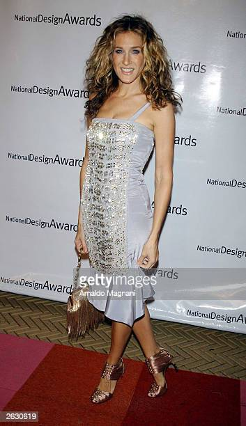 Actress Sarah Jessica Parker attends the Cooper-Hewitt National Design Museum's fourth annual National Design Awards gala and afterparty October 22,...