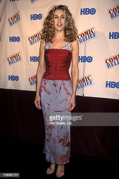 Actress Sarah Jessica Parker attends the HBO Television Special Comic Relief VIII to Benefit America's Homeless on June 14 1998 at Radio City Music...