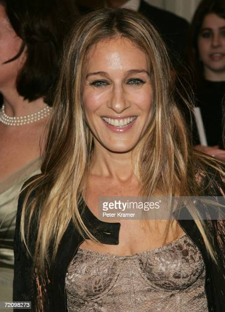 Actress Sarah Jessica Parker attends the opening night of 'A Chorus Line' October 5 2006 in New York City
