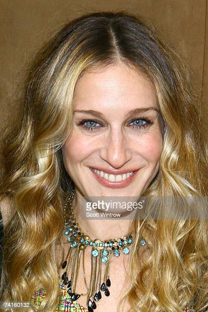 Actress Sarah Jessica Parker attends the opening night party for the new Serge Normant Salon at 825 Washington Street May 15 2007 in New York City