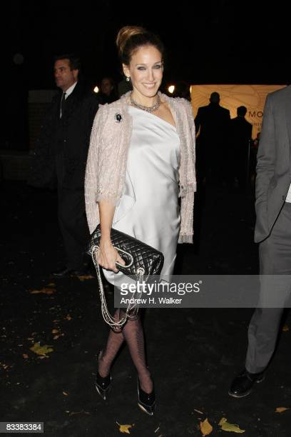 Actress Sarah Jessica Parker attends the opening party for Mobile Art CHANEL Contemporary Art Container by Zaha Hadid at Rumsey Playfield Central...