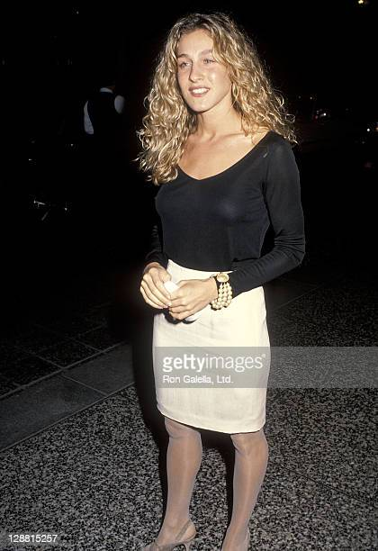 Actress Sarah Jessica Parker attends the People for the American Way's Spirit of Liberty Award Salute to Kathleen Turner and Don Henley on October 29...