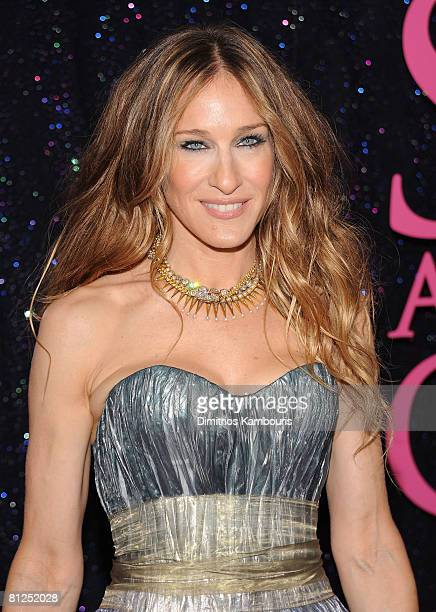 Actress Sarah Jessica Parker attends the premiere of 'Sex and the City The Movie' at Radio City Music Hall on May 27 2008 in New York City