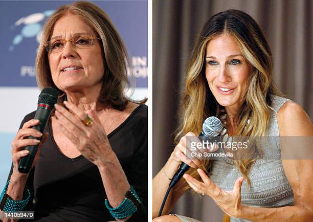 In this composite image a comparison has been made between Gloria Steinem and actress Sarah Jessica Parker Sarah Jessica Parker will reportedly play...