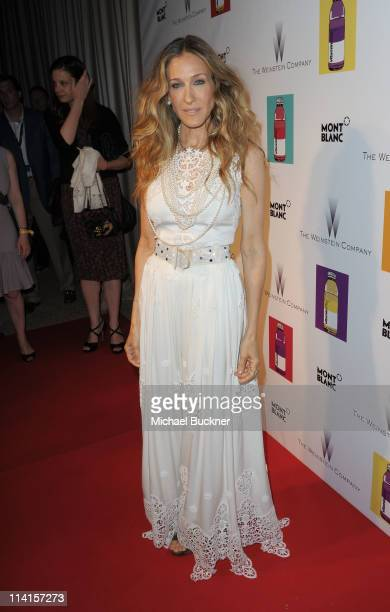 Actress Sarah Jessica Parker attends The Weinstein Company VIP Press Event at the Martinez Hotel during the 64th Cannes Film Festival on May 13 2011...