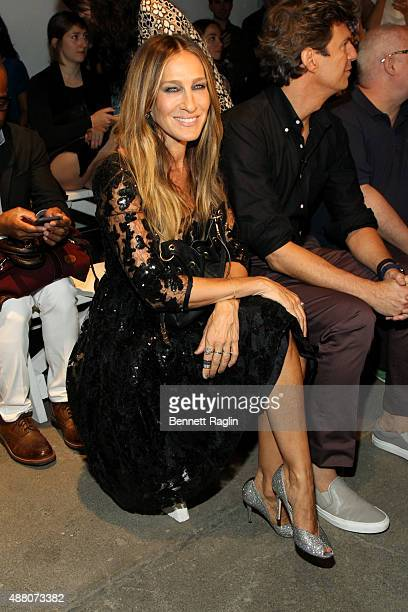 Actress Sarah Jessica Parker attends Tracy Reese S/S 2016 with SheaMoisture during New York Fashion Week at Art Beam on September 13 2015 in New York...