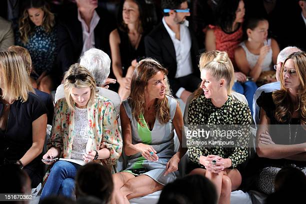 Actress Sarah Jessica Parker Barry Diller Chairman and Senior Executive of IAC/InterActiveCorp Anne Wojcicki Google cofounder Sergey Brin Wendy...