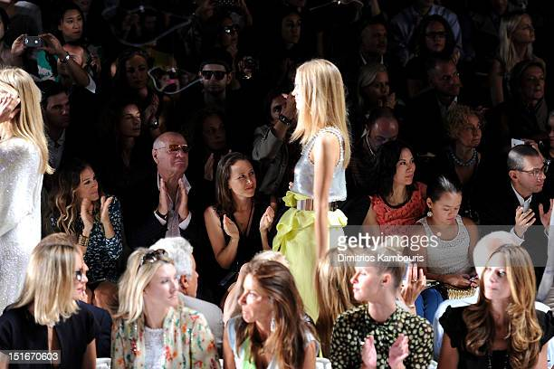 Actress Sarah Jessica Parker Barry Diller Chairman and Senior Executive of IAC/InterActiveCorp Anne Wojcicki Wendy Murdoch Grace Murdoch Dori...
