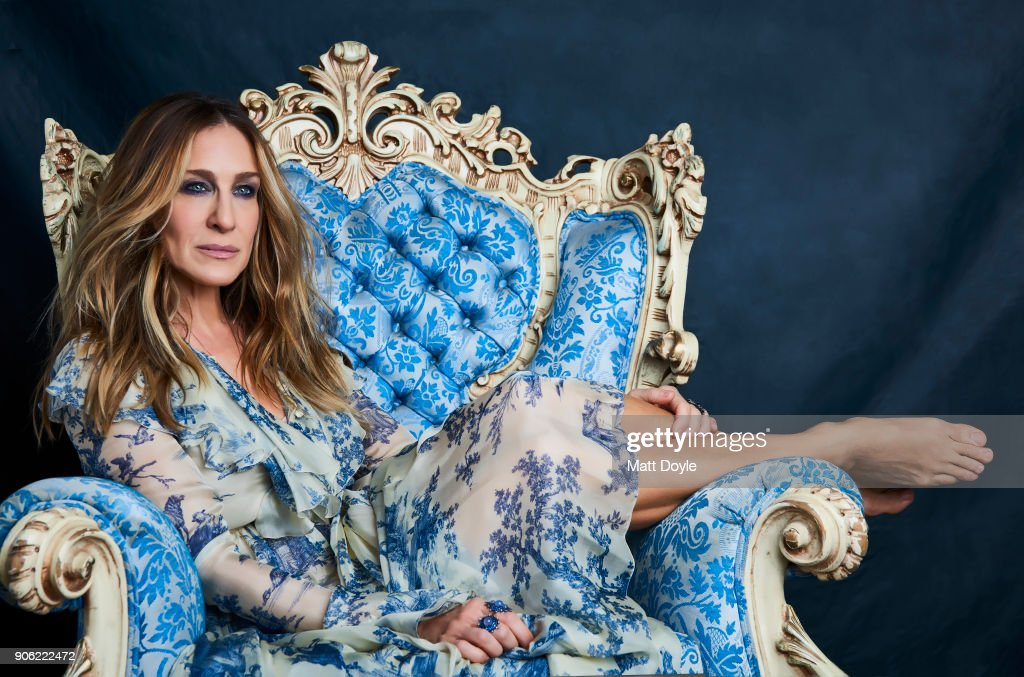 Sarah Jessica Parker, Back Stage, January 3, 2018