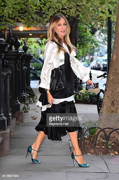 Actress Sarah Jessica Parker is seen on October 5 2016 in New York City