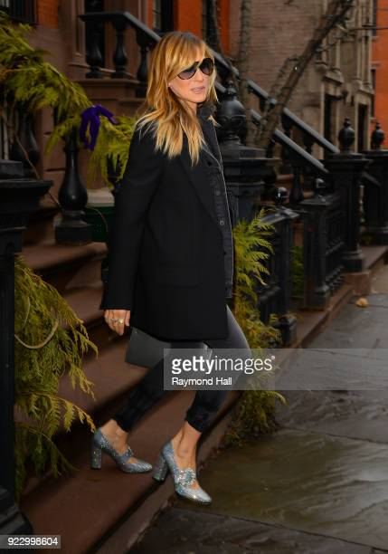 Actress Sarah Jessica Parker is seen walking in Soho on February 22 2018 in New York City