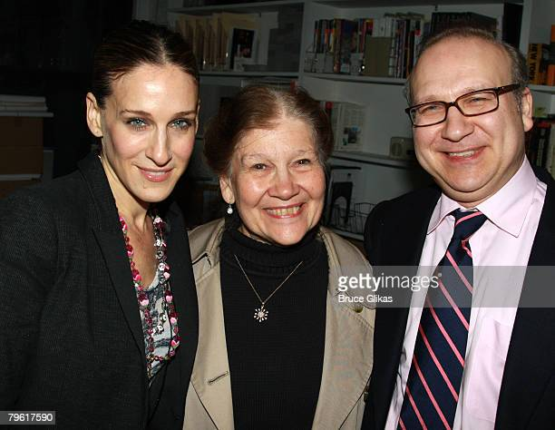 Actress Sarah Jessica Parker mother Barbra Forste and brother Director Pippin Parker attend the after party for The Culture Project's 'Betrayed' on...