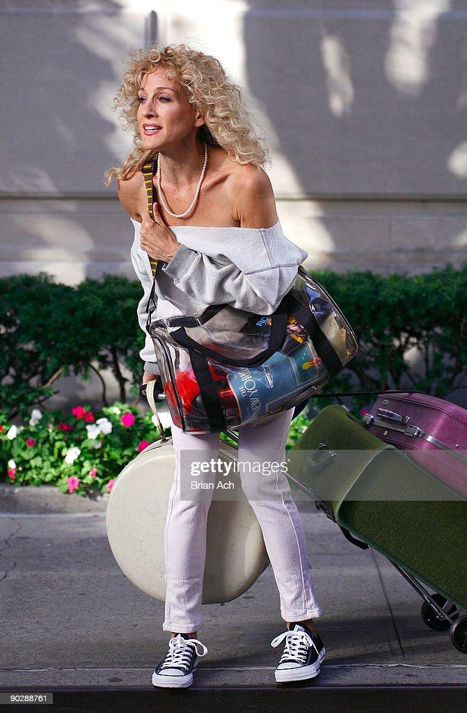 Celebrity Sightings In New York - September 1, 2009 : News Photo