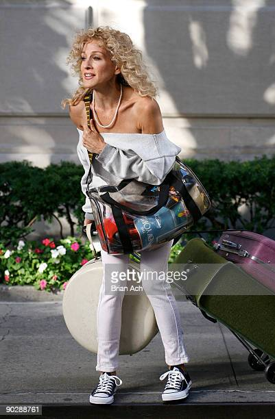 Actress Sarah Jessica Parker seen on the streets of Manhattan on September 1 2009 in New York City