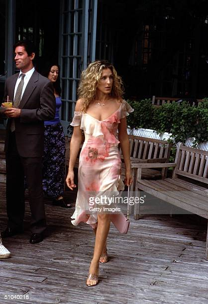 Actress Sarah Jessica Parker Stars As Carrie In The Hbo Comedy Series Sex And The City The Third Season
